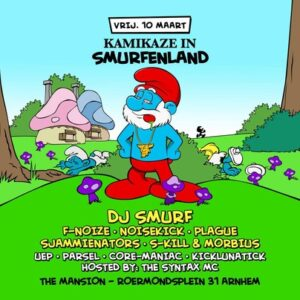2017-03-10-kamikaze-in-smurfenland-the-mansion-event