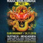 FOTO'S 2018-11-24 – ULTIMATE HOUSE MERCHANDISE – CLUB BROADWAY